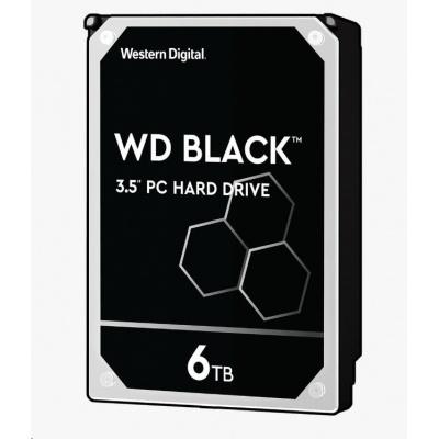 WD BLACK WD6003FZBX 6TB SATAIII/600 256MB cache 7200 ot.