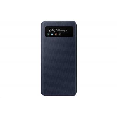 Samsung pouzdro S-View EF-EA415PBE pro Galaxy A41, černá
