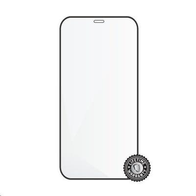 "Screenshield ochrana displeje Tempered Glass pro APPLE iPhone 12 Pro Max 6.7"", (full cover), černá"