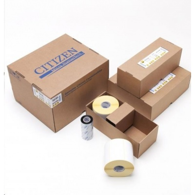 Citizen BOX PACK, label roll, colour ribbon, normal paper, wax, 100x59mm