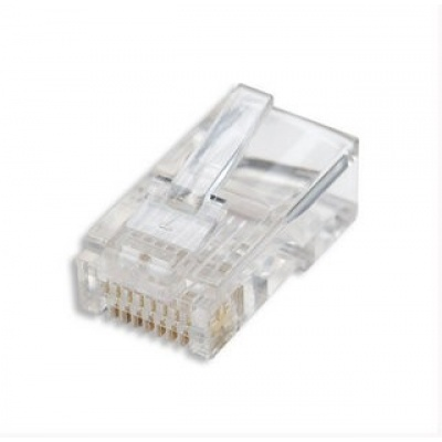 Intellinet konektor RJ45, drôt UTP Cat5e, 100ks v nádobe
