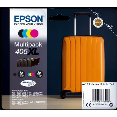 EPSON ink Multipack 4-colours 405XL DURABRITE ULTRA  Ink