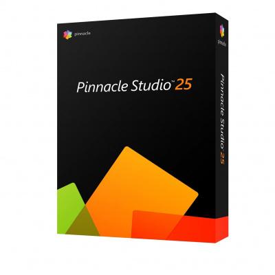 PinnacleStudio25StandardMLEU - Windows, EN/CZ/DA/DE/ES/FI/FR/IT/NL/PL/SV - ESD