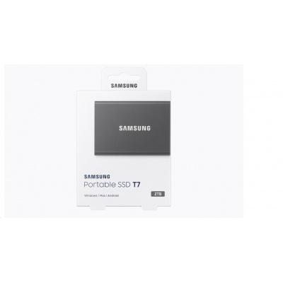 Samsung Externí SSD disk - 2TB - černý