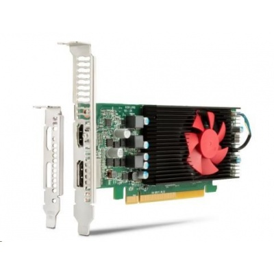 AMD Radeon RX 550X 4GB LowProfile DP, HDMI, PCIe x16 Card