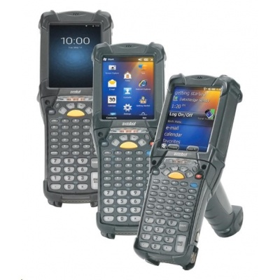 Zebra MC9200 standard, 2D, SR, BT, Wi-Fi, VT Emu., Gun, disp., WEC 7