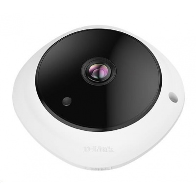 D-Link DCS-4625 Vigilance 5-Megapixel Panoramic Fisheye Camera, 5MPx, PoE, micro SD slot