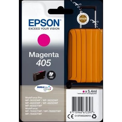 EPSON ink Singlepack Magenta 405 Durabrite Ultra