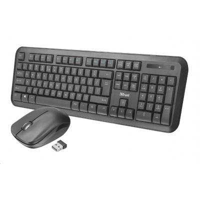 TRUST Set klávesnice + myš Nova Wireless Keyboard and mouse