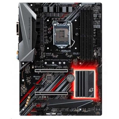 ASRock MB Sc LGA1151 Z390 PHANTOM GAMING SLI ,Intel Z390, 4xDDR4, HDMI, VGA