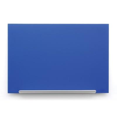 Skleněná tabule Diamond glass modrá 126x71,1