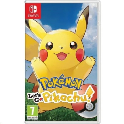 Nintendo Switch hra -  Pokémon Let's Go Pikachu!