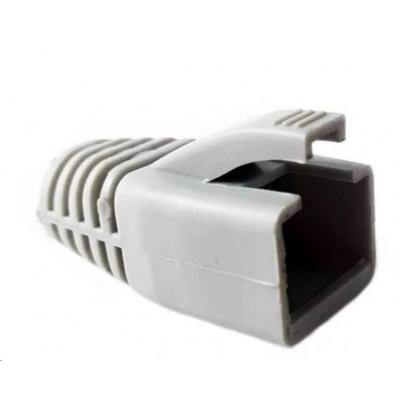 Ochrana pro konektor RJ45 Cat6A, snag-proof - šedá, 100ks