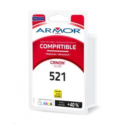 ARMOR ink-jet pre CANON IP3600, 4600, 4600X,MP540, 620 ,630, 980, MX860, 690 strán, CLi521Y, žltá/yellow (Cli-521Y)