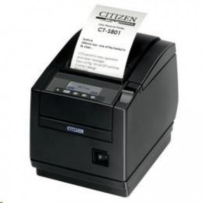 Citizen CT-S801II, 8 dots/mm (203 dpi), cutter, display, black