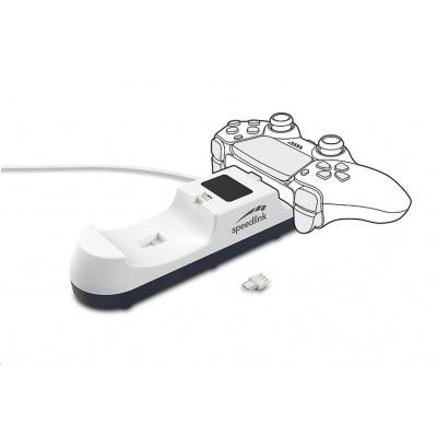 SPEED LINK USB nabíječka JAZZ USB Charger, pro PS5, bílá