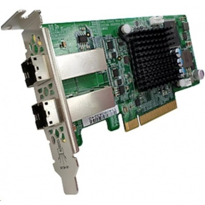 QNAP SAS-12G2E Rozšiřující úložná karta SAS 12Gb/s