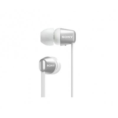 SONY bezdrátová stereo sluchátka WI-C310, bílá