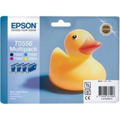 "EPSON ink čer+bar Stylus Photo ""Kachna"" R240/R245/RX420/425/RX520 - CMYK multipack"