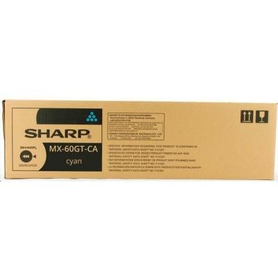 Sharp toner cyan (12.000 kópií) MX-2630N; MX-2651; MX-3050N - MX-6050N; MX-3060N - MX-4060N; MX-3070N - MX6070N; MX-3051