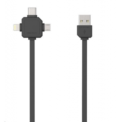 Allocacoc USBcable USB-C Black