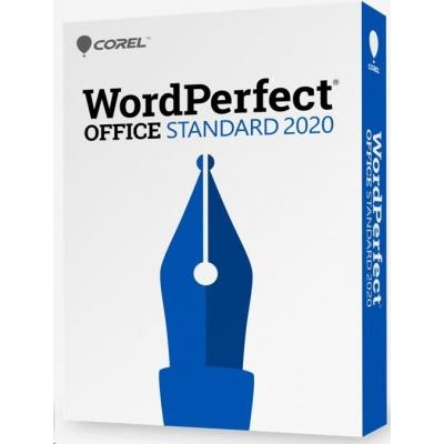 WordPerfect Office 2020 Standard Upgrade License Lvl 4 (100-249) EN/FR