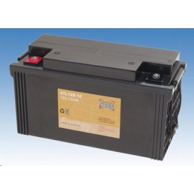 Baterie - CTM CTL 120-12 (12V/120Ah - M6), životnost 10-12let