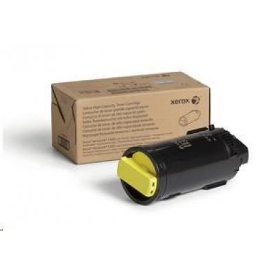 Xerox Yellow High Capacity Toner Cartridge pro The VersaLink C600/C605 (10 100 PAGES)