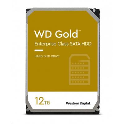 WD GOLD WD121KRYZ 12TB SATA/ 6Gb/s 256MB cache 7200 ot., CMR