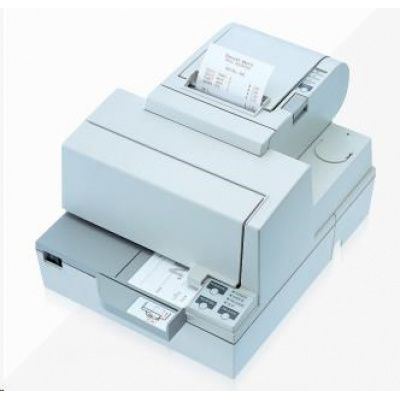 Epson TM-H 5000 II, RS-232, cutter, white