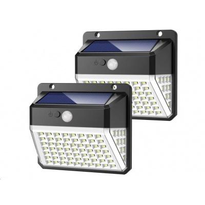 Viking venkovní solární LED světlo D82 s pohybovým senzorem