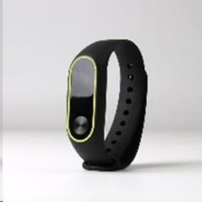 eses náramek černo žlutý pro Xiaomi Mi Band 2
