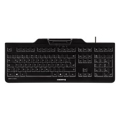 CHERRY klávesnice se čtečkou karet KC 1000 SC, USB, EU, černá