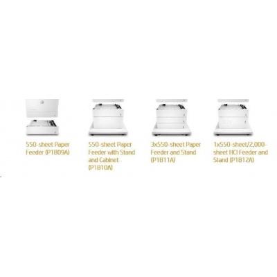 HP Color LaserJet 1x550/2000 Sht HCI Stand - Skříňka tiskárny + zás. na 1x550 + 1x2000 listů pro CLJ M681, M652, M653