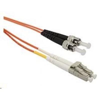 Solarix Patch kabel 50/125 LCupc/STupc MM OM2 1m duplex SXPC-LC/ST-UPC-OM2-1M-D