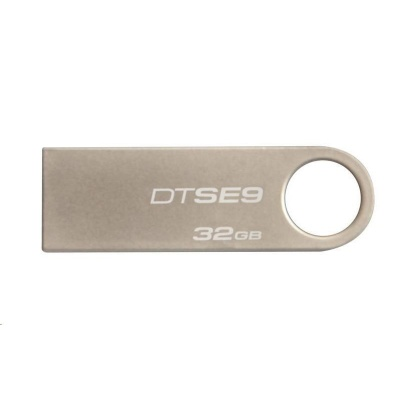 Kingston 32GB USB 2.0 DataTraveler SE9 (Metal casing) - (3 Pack)