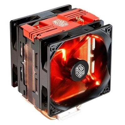 Cooler Master chladič Hyper 212 LED Turbo, červená