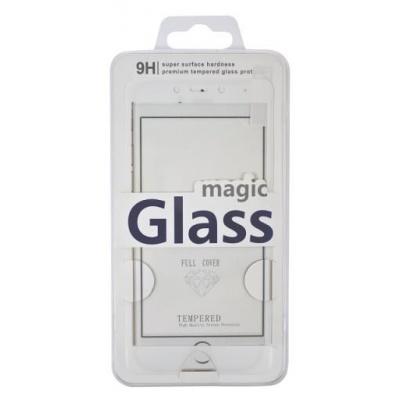 Aligator ochrana displeje Carbon Fiber Glass pro Huawei Honor 8, bílá