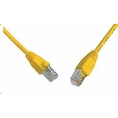 Solarix Patch kabel CAT6 SFTP PVC 10m žlutý snag-proof C6-315YE-10MB