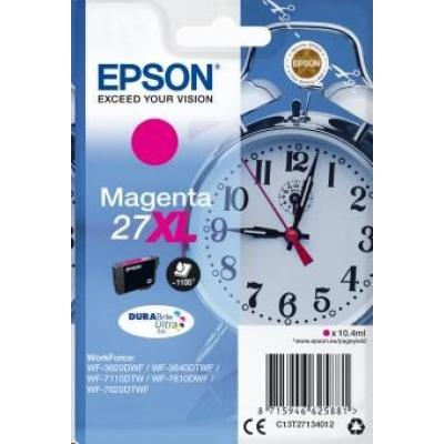 "EPSON ink bar Singlepack ""Budík"" Magenta 27XL DURABrite Ultra Ink"