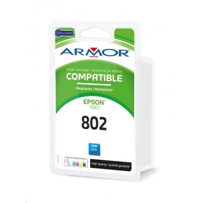 ARMOR ink-jet pre EPSON Stylus Photo R265, R285, R360, RX560, RX585, RX685, 350 strán, T080240, modrá/cyan ()