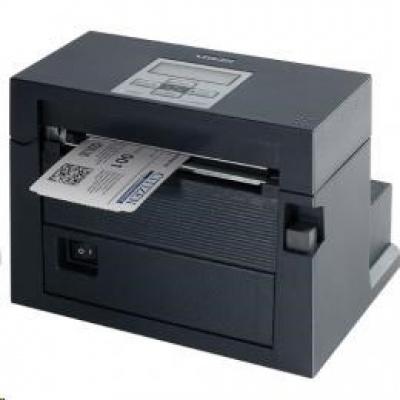 Citizen CL-S400DT, 8 dots/mm (203 dpi), cutter, ZPLII, Datamax, USB, RS-232, Ethernet