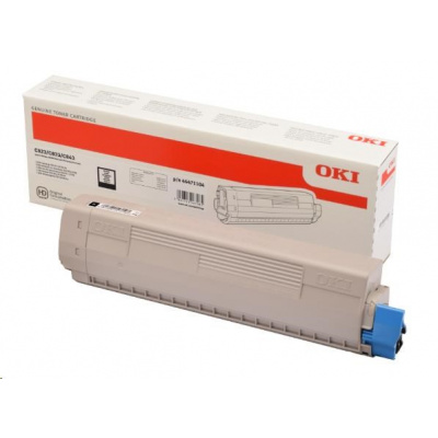 OKI Černý toner do C823/C833/C843 (7 000 stránek)
