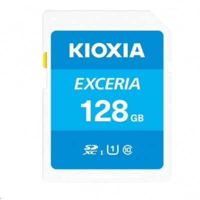 KIOXIA Exceria SD card 128GB N203, UHS-I U1 Class 10