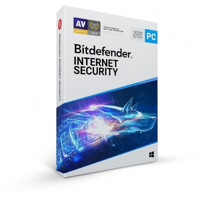 Bitdefender Internet Security- 5PC na 1 rok- elektronická licence do emailu