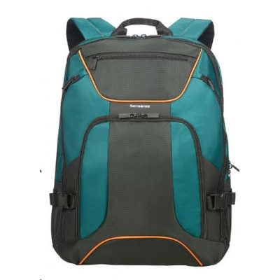"Samsonite Kleur Laptop Backpack WH 17,3"" Green/dark green"