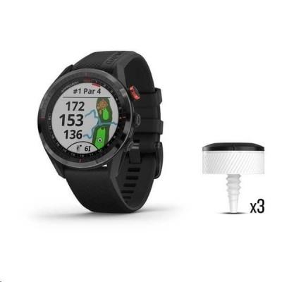 Garmin Golfové GPS hodinky Approach S62 Black Bundle