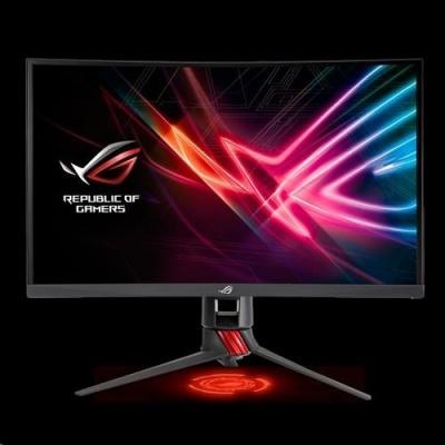 "ASUS LCD 27"" XG27VQ ROG STRIX  FHD 1920 x 1080 eSport Curved Gaming  144Hz 1ms MPRT DVI DP HDMI Aura RGB FreeSync"