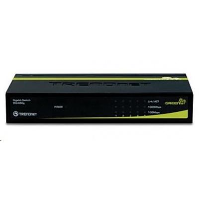 TRENDnet 5port Gigabit GREENnet Switch 10/100/1000 kovový