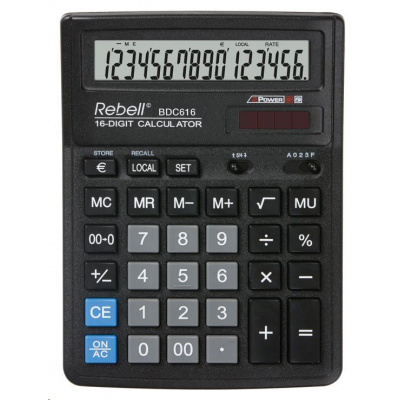 Rebell kalkulačka - stolní - BDC616